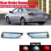 Car LED Rear Bumper Reflector Brake Light Tail Lamp for Toyota Corolla 2011 O9M3