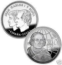 manueduc   12 EUROS ESPAÑA  2006  CRISTOBAL COLON 18,2 Gr PLATA