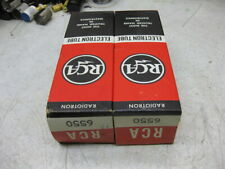 2 RCA 6550 NOS  for  mcintosh marantz tube amp