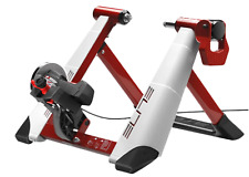 Elite Novo Force Magnetic Resistance Home Cycle Trainer - White/Red BOXED