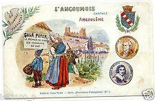 Publicité .GALA PETER CHOCOLAT . Angouléme. N°1  ILLUSTRAT. KAUFFMANN
