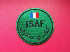 écusson brodé International Security Assistance Force insigne tissu ISAF patch
