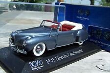 1:43 Minichamps 1941 Lincoln Continental. 100 Years of Ford Heart & Soul