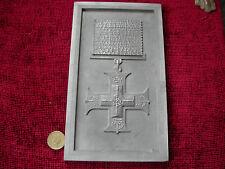 Replica Copy WW1 Oversize GV Military Cross Plaque Frame RESIN