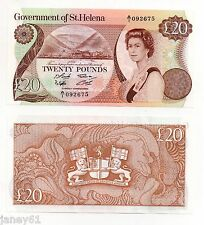 ~ ST. HELENA  £20 Banknote  P10 ~
