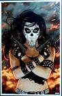 LADY DEATH 2013 ART PRINT Cover Q Signed BRIAN PULIDO / Coffin Comics
