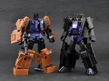 Transformers Fansproject Crossfire 02 SP Explorer & Munitioner & Quake Set MISB