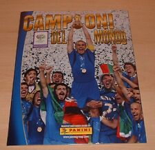 Panini WORLD CUP 2006 Campioni del Mondo Italia Sellado álbum vacío + Sticker Set
