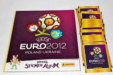 Panini EM Euro 2012 – 50 Tüten packets + Leeralbum album INTERNATIONAL VERSION