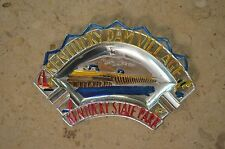 Kentucky Dam Village Ashtray Collectors Item, In Good Condition Made From Tin