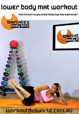 Barre Ballet Style EXERCISE DVD - Barlates Body Blitz LOWER BODY MAT WORKOUT!