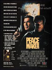 PEACEMAKER__Orig. 1990 Trade print AD promo__HILARY SHEPARD__ROBERT FORSTER_DAVI
