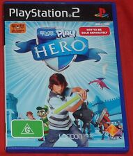 PS2. Eye Toy Play Hero. Sony Playstation 2. (PAL EUR/AUS)