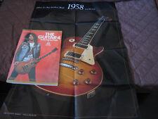 The Guitar 4 Japan Book w Poster Les Paul Slash Guns Roses Zakk Gibson Fender