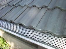 Dachrinnenschutz Tiefe 15 cm aus Edelstahl