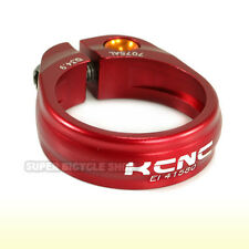 KCNC SC9  Seat Post Clamp 7075 Alloy , 34.9mm , Red
