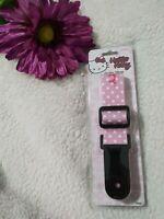 Sanrio Hello Kitty Pink Adjustable Guitar Strap. Super Cute! Guitar Hero. Sakar