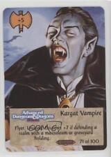 1994 Spellfire: Master the Magic - Ravenloft First Edition Kargat Vampire 2k3