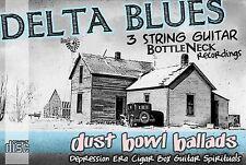 Cigar Box Guitar Delta Blues Music CD Slide & Folk dobro Bottleneck Resonator