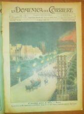 LA DOMENICA DEL CORRIERE 15 maggio 1938 arrivo Hitler a Roma - legionari Spagna