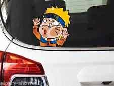 """NARUTO Uzumaki Naruto Hit glass (涡巻ナルト) car sticker 15X14cm (5.9""""X5.5"""") (S-473)"""