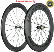 700C Front 60mm+Rear 88mm Carbon Wheels Road Bike 60+88mm Clincher 23mm Width 3K