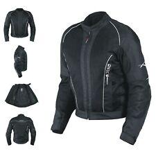 CE Armour Mesh Summer Tex Jacket Motorbike Motorcycle Pants Sonicmoto Black M