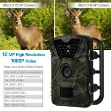 1080P 12MP Scouting Trail Camera Night Vision Game Wildlife IR Infrared