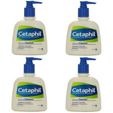 4 Pack - Cetaphil Daily Facial Cleanser For Normal To Oily Skin 8oz Each