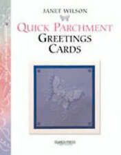 Quick Parchment Greetings Cards by Janet Wilson (Pb, 2005) Paper craft book