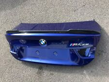 BMW M4 Bootlid CS Model & Carbon Fibre Spoiler 4 Series F82 S55 Pn 41628067900