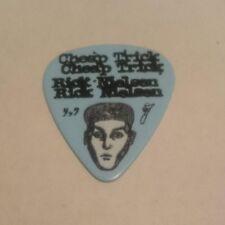 Rick Nielsen Cheap Trick Bang Guitar Pick Limited Edition Rare Tour 2016 Blue