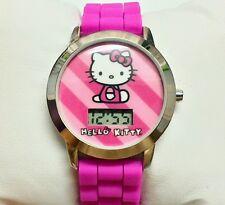 Hello Kitty Children's Watch Digital Pink Girls Cute