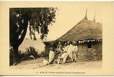 POSTCARD / CARTE POSTALE / ETHIOPIE / AVALLE PRETRE INDIGENE / CATECHISME
