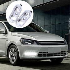 2X Side Marker Light Repeater Indicator For VW Jetta Golf Bora Mk4 Passat B5 LC