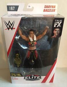 SHAYNA BASZLER WWE Mattel Elite Series 67 Figure w NXT Womens Title Belt