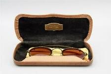New listing Rare Set Of Oilver Peoples Tortoise Eye Glasses With Attaching Sunglasses & Case