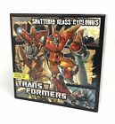Transformers TFCC 2010 Shattered Glass Cyclonus Box, Card, And Instructions ONLY