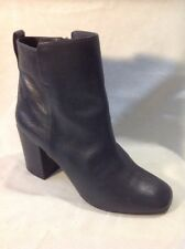 Aldo Grey Ankle Leather Boots Size 3
