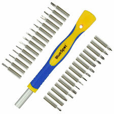 31pc Di Precisione Magnetico Set cacciaviti Phillips Torx Hex TRI WING STAR
