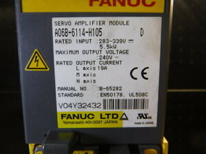 Fanuc Servo Amplifier A06B-6114-H105 (LOC223B)