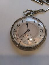 Very Nice South bend 19 Jewel Pocketwatch 1922 Adjusted 4 Positions