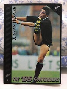 1995 Dynamic ALL BLACK ZINZAN BROOKE Trading Card MINT CONDITION NEW