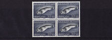 Greenland - 1984 Spotted Wolf Fish - U/M - BLOCK of FOUR - SG 151