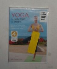 Yoga for Belly, Butt & Thighs (DVD, 2014) BRAND NEW, Chrissy Carter, Exercise