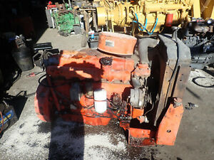 Waukesha VRD310U Diesel Engine RUNNING TAKEOUT! RARE! Oliver Tractor VRD310