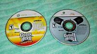 Guitar Hero II and World Tour ~ Microsoft Xbox 360 - Free Shipping
