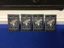 Vintage The TRIPLE TONE REFLEXO Blue Steel Needles Record Player LP Tone 10 Pack