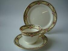 VINTAGE ANCHOR CHINA BRIDGWOOD PINK ROSE BUD ART NOUVEAU TRIO 1910+