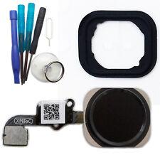 iPhone 6 Home Button Flex Kabel ID Sensor Touch Menü Taste schwarz + Werkzeug
